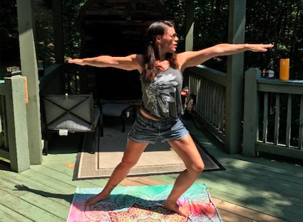 Caylin White yoga