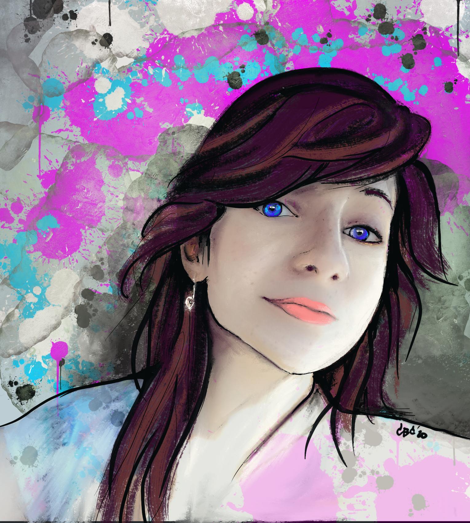 Custom artwork portrait