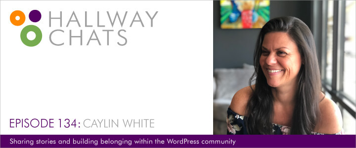 Hallway Chats podcast with Caylin White