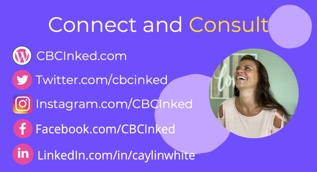 Connect with Caylin White online